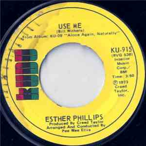 Esther Phillips - Use Me / Let Me In Your Life mp3 album