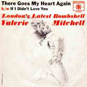 Valerie Mitchell - There Goes My Heart Again mp3 album
