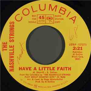 The Nashville Strings - Have A Little Faith mp3 album