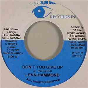 Lenn Hammond / Eddie Fitzroy - Don't You Give Up / Easy Ride mp3 album