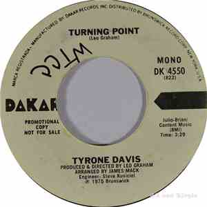 Tyrone Davis - Turning Point mp3 album